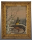 LOT OF 2: OIL PAINTINGS OF BIRDS.
