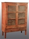 WOODEN PRIMITIVE PIE SAFE CABINET.