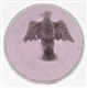 SPREAD WINGED EAGLE SULPHIDE MARBLE.