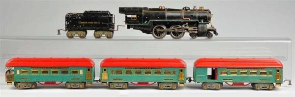 Lot Detail - American Flyer Standard Gauge Passenger Train Set