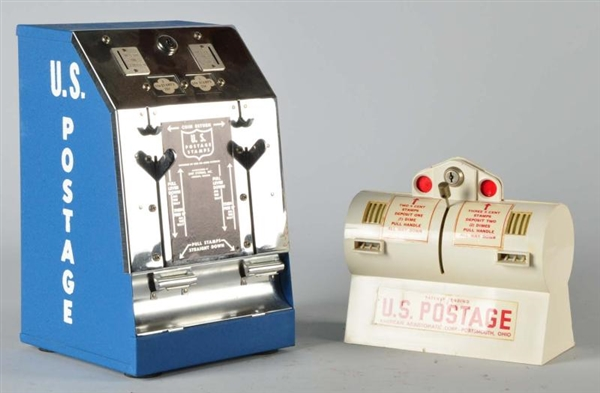 Lot 1017 Of 2 Postage Stamp Dispensers