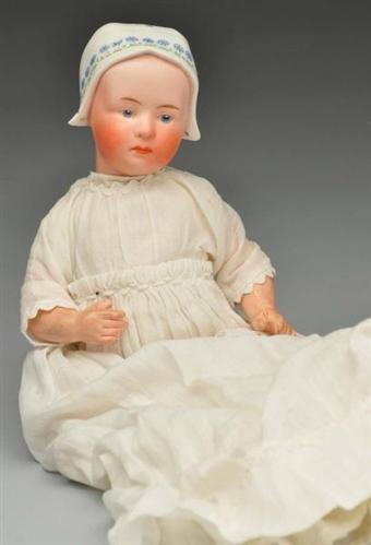 "Unusual Heubach ""Baby Stuart"" Character Doll."