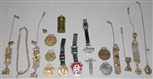 LOT OF 15: WATCH FOBS.