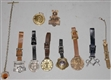 LOT OF 10: WATCH FOBS.