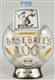 JIM BEAN BASEBALL 100TH ANNIVERSARY DECANTER.