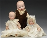 LOT OF 3: SMALL DOLLS.