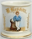 EARLY SAILOR SHAVING MUG.