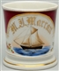 SAILBOAT SHAVING MUG.