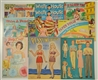 LOT OF 10: GROWN-UP THEME PAPER DOLL SETS.