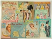 LOT OF 10: BRIDAL THEME PAPER DOLL SETS.