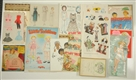 LARGE LOT OF PAPER DOLL BOOKS AND MAGAZINES.