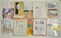 LARGE LOT OF ASSORTED MODERN PAPER DOLLS.