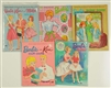 LOT OF 5: EARLY BARBIE PAPER DOLL BOOKS.