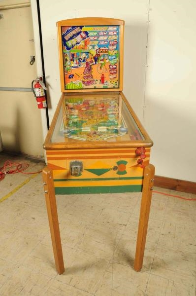 Lot Detail - Gottlieb Buttons and Bows Pinball Machine