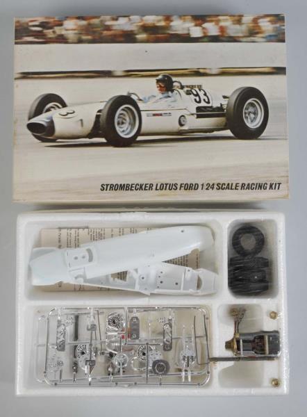 Lot Detail - Strombecker Raceways Lotus Ford Slot Car Kit