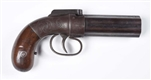 PRESENTATION ALLEN & THURBER PEPPERBOX PISTOL.