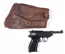NAZI MARKED WALTHER P .38 SEMI-AUTOMATIC PISTOL**