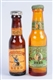 LOT OF 2: MINIATURE BEER BOTTLE SHAKES.