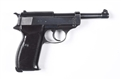NAZI MARKED WALTHER P -38 SEMI-AUTOMATIC PISTOL**