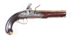KETLAND S.S. FLINTLOCK PISTOL (CONTEMPORARY).