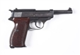 NAZI MARKED WALTHER P-38 SEMI-AUTOMATIC PISTOL**