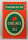 CARLINGS RED CAP ALE TIN SIGN.