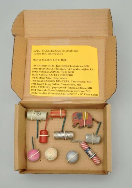 Lot Detail - SALUTE COLLECTION 1920S - 1950S IN BOX