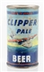 CLIPPER PALE BEER FLAT TOP CAN.