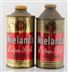 LOT OF 2: WIELANDS EXTRA PALE CONE TOP BEER CANS.