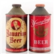 LOT OF 2: BAVARIAN & YUENGLINGS CONE TOP CANS.