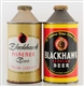 LOT OF 2: BLACKHAWK CONE TOP IRTP BEER CANS.