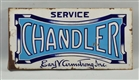 CHANDLER SERVICE EARL V. ARMSTRONG INC. SIGN.