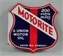 "MOTORITE ""200 EXTRA MILES"" UNION OIL COMPANY SIGN."