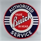BUICK VALUE IN HEAD AUTHORIZED SERVICE DSP SIGN.