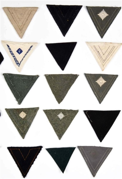 Lot Detail - Large Lot of German Military Rank Chevrons