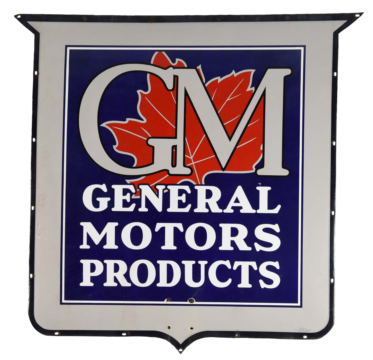 Lot detail gm general motor products w maple leaf logo for Phone number for general motors