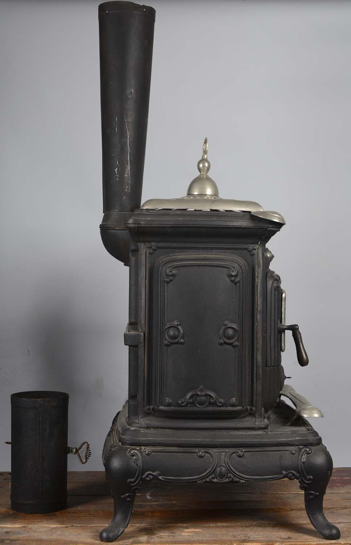 Lot Detail Cast Iron Parlor Stove