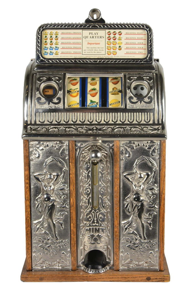 **25¢ Caille Victory Bell Slot Machine