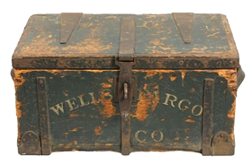 Early Wells Fargo Strong Box.