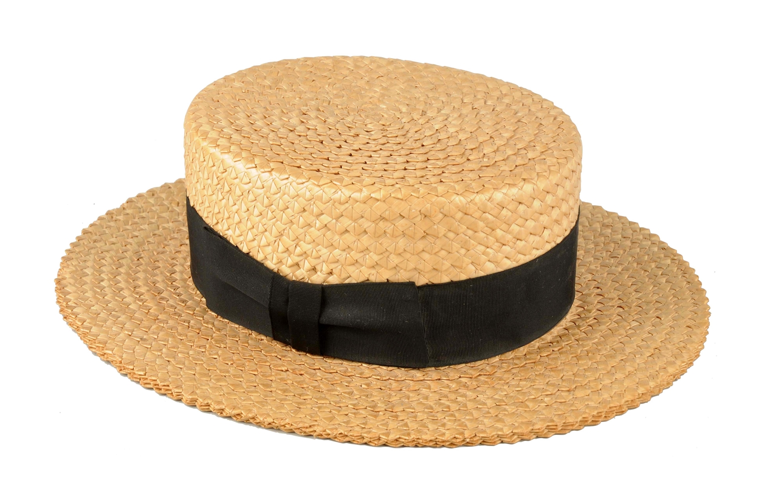 Early Stetson Straw Hat.