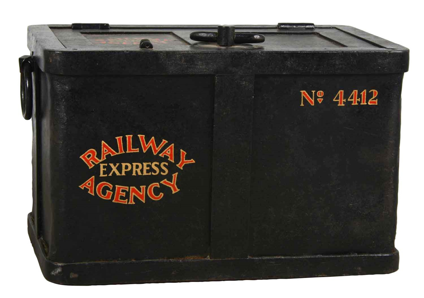 Railway Express Agency No. 4412 Strong Box.