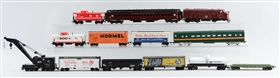 LOT OF 12: ROLLING STOCK.