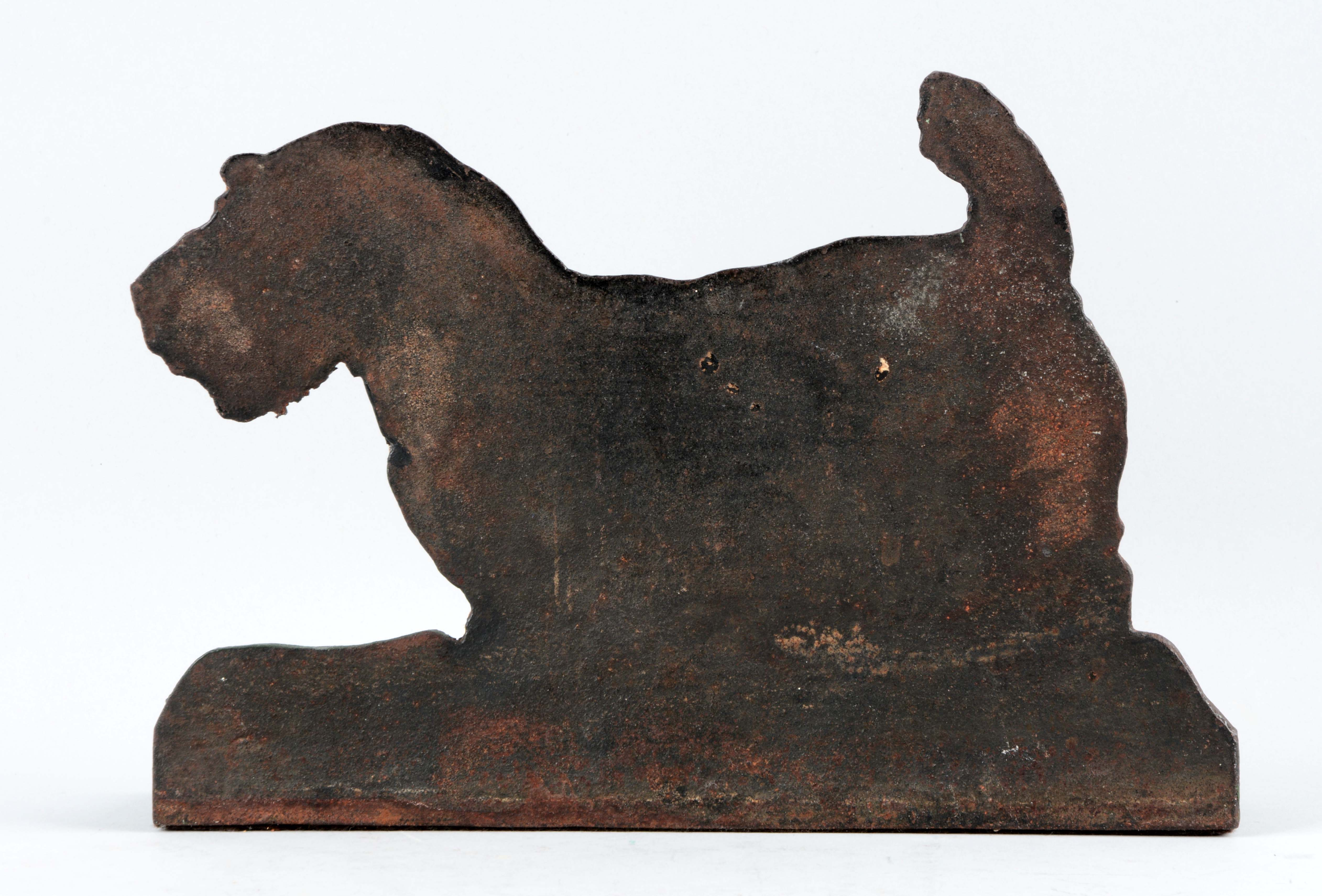 Lot detail cast iron sealyham dog doorstop - Cast iron dog doorstop ...