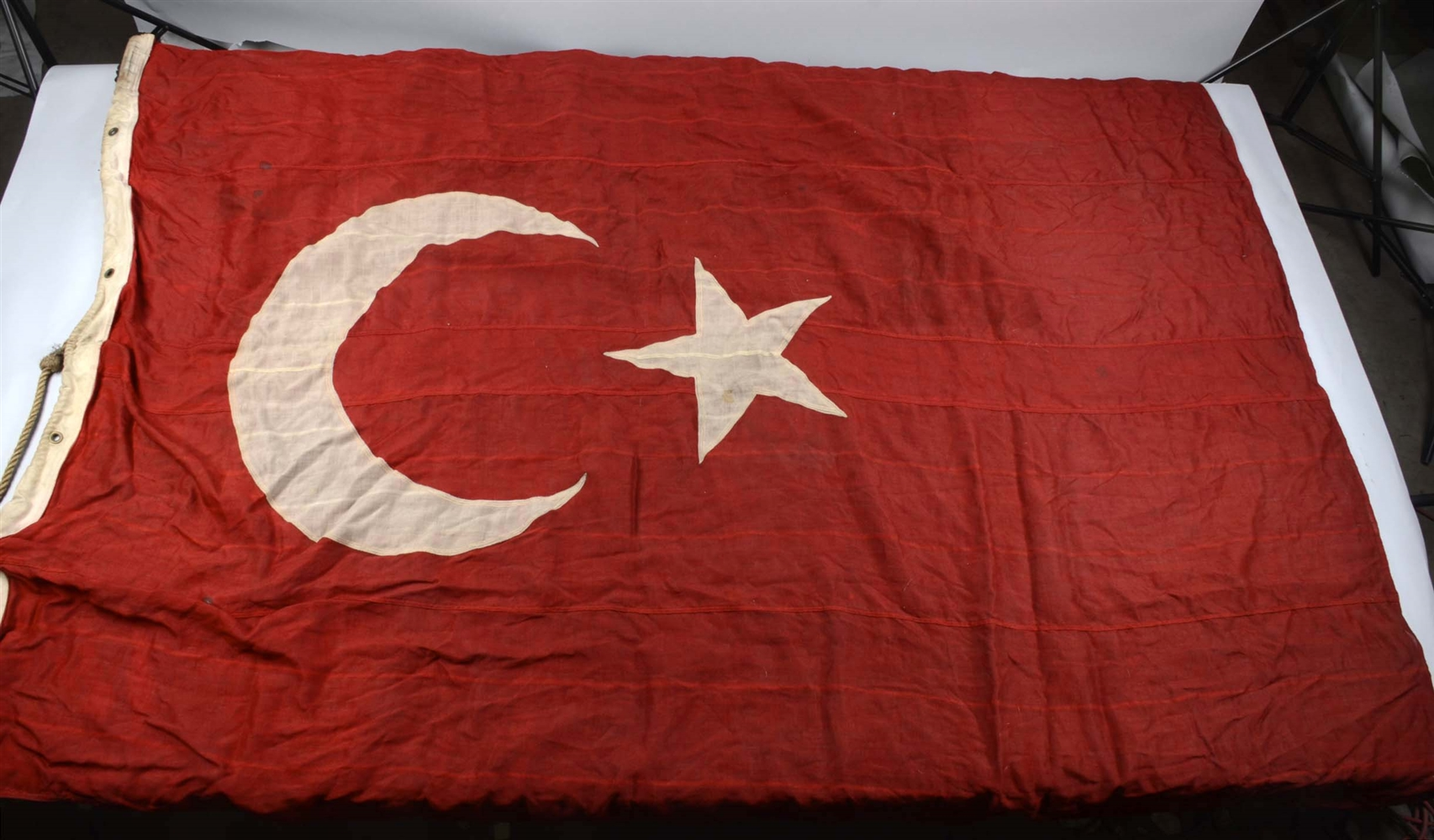 Lot of 2:  Turkey & Pakistan Flags.
