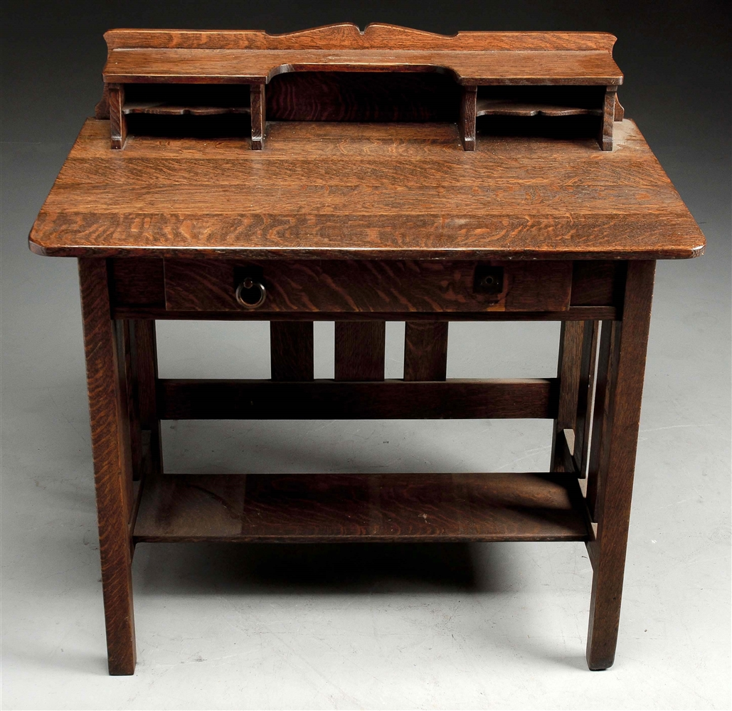Stickley Bros Postcard Desk No. 171.