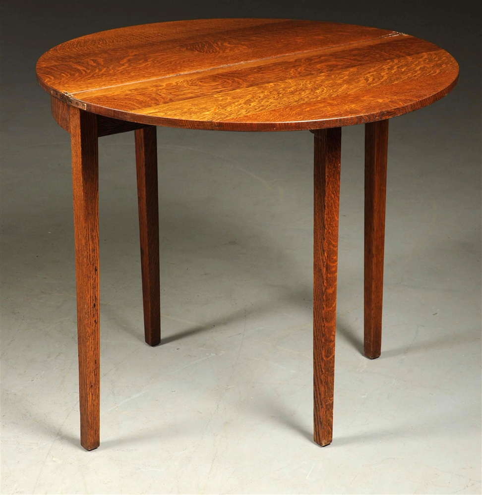 Rare Limbert Arts & Crafts Gate Leg Table.