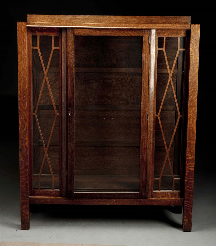 Arts & Crafts Mission China Cabinet.