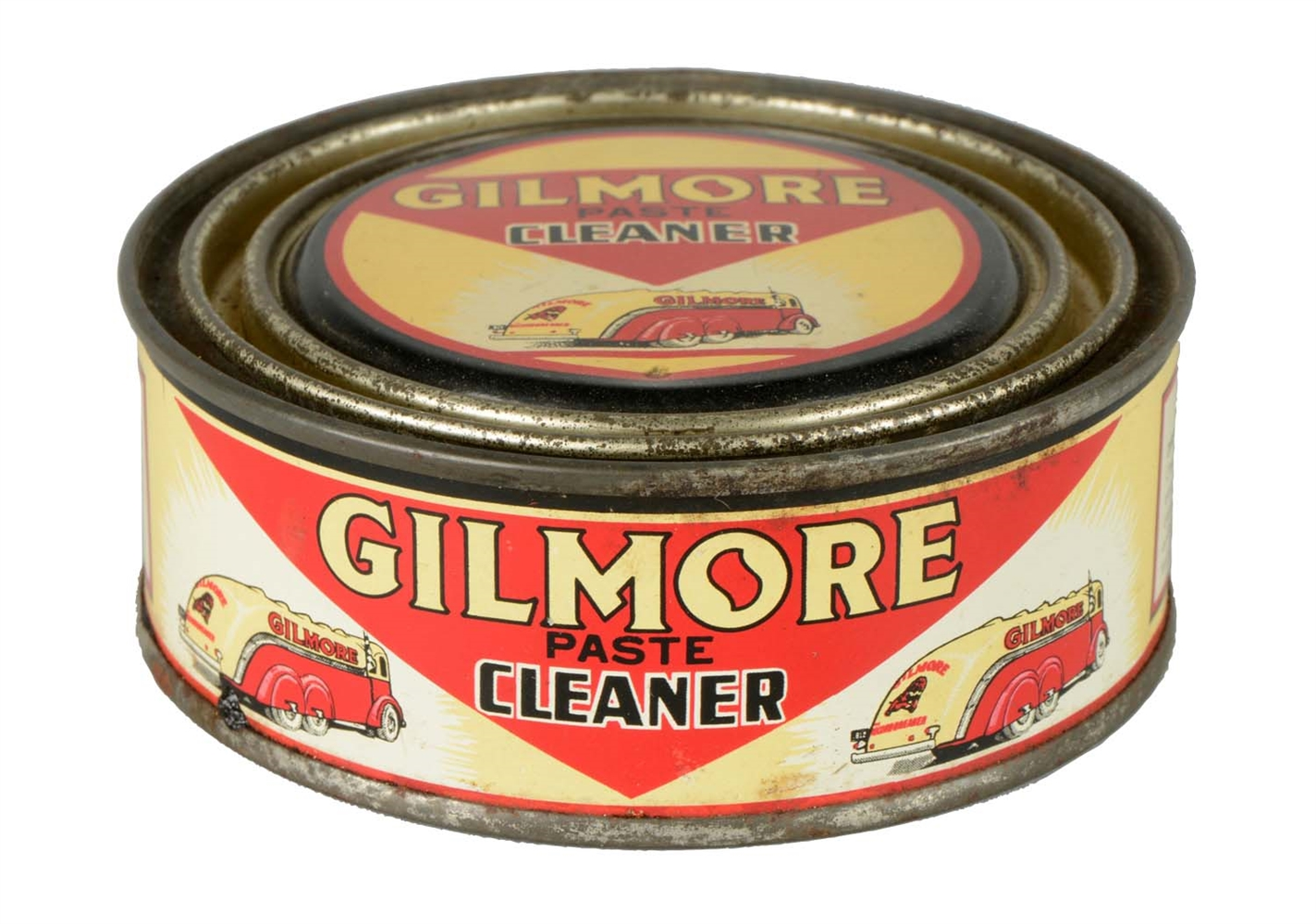 Rare Gilmore Wax Paste Cleaner Can.