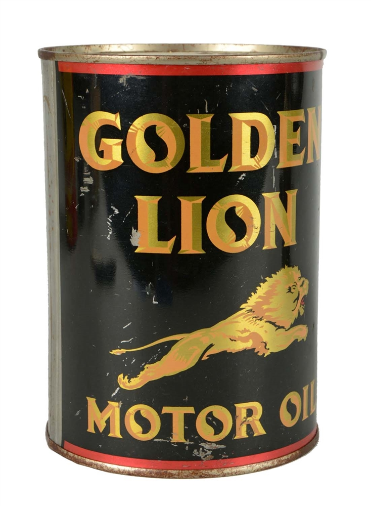 Gilmore Golden Lion One Quart Can.
