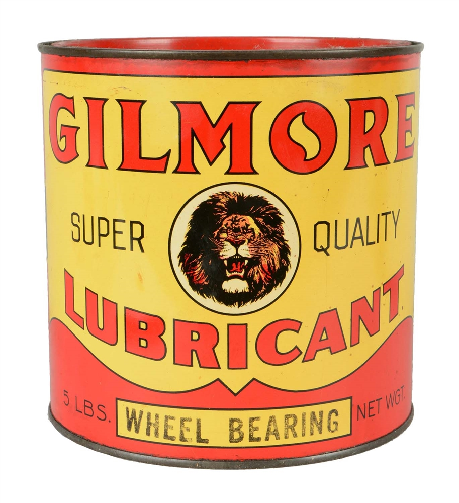 Gilmore Wheel Bearing Five Pound Grease Can.